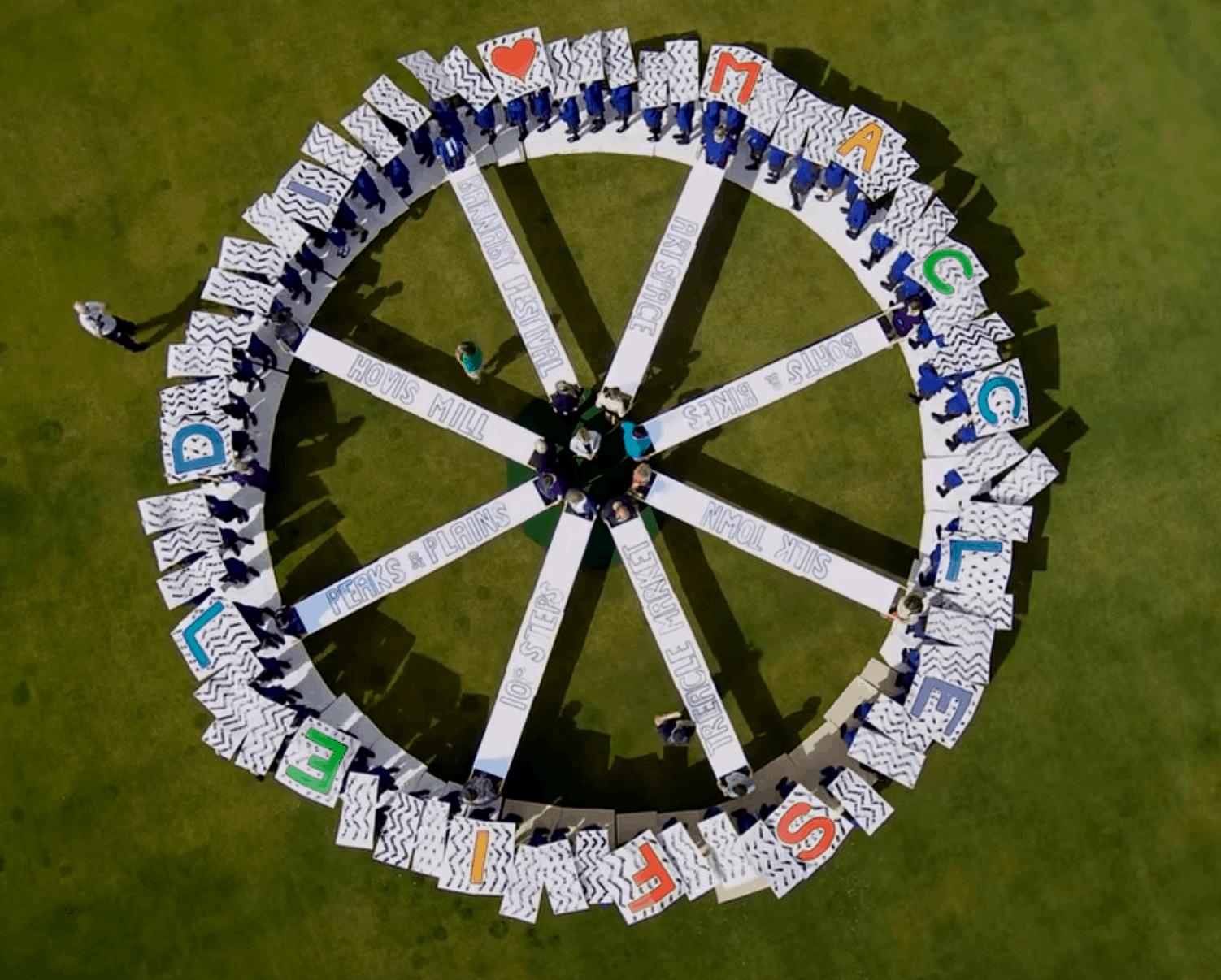 Aerial Artwork for Tour of Britain