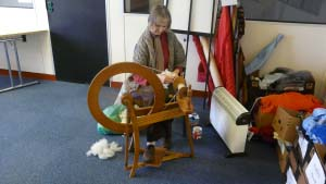Traditional Spinning & Weaving
