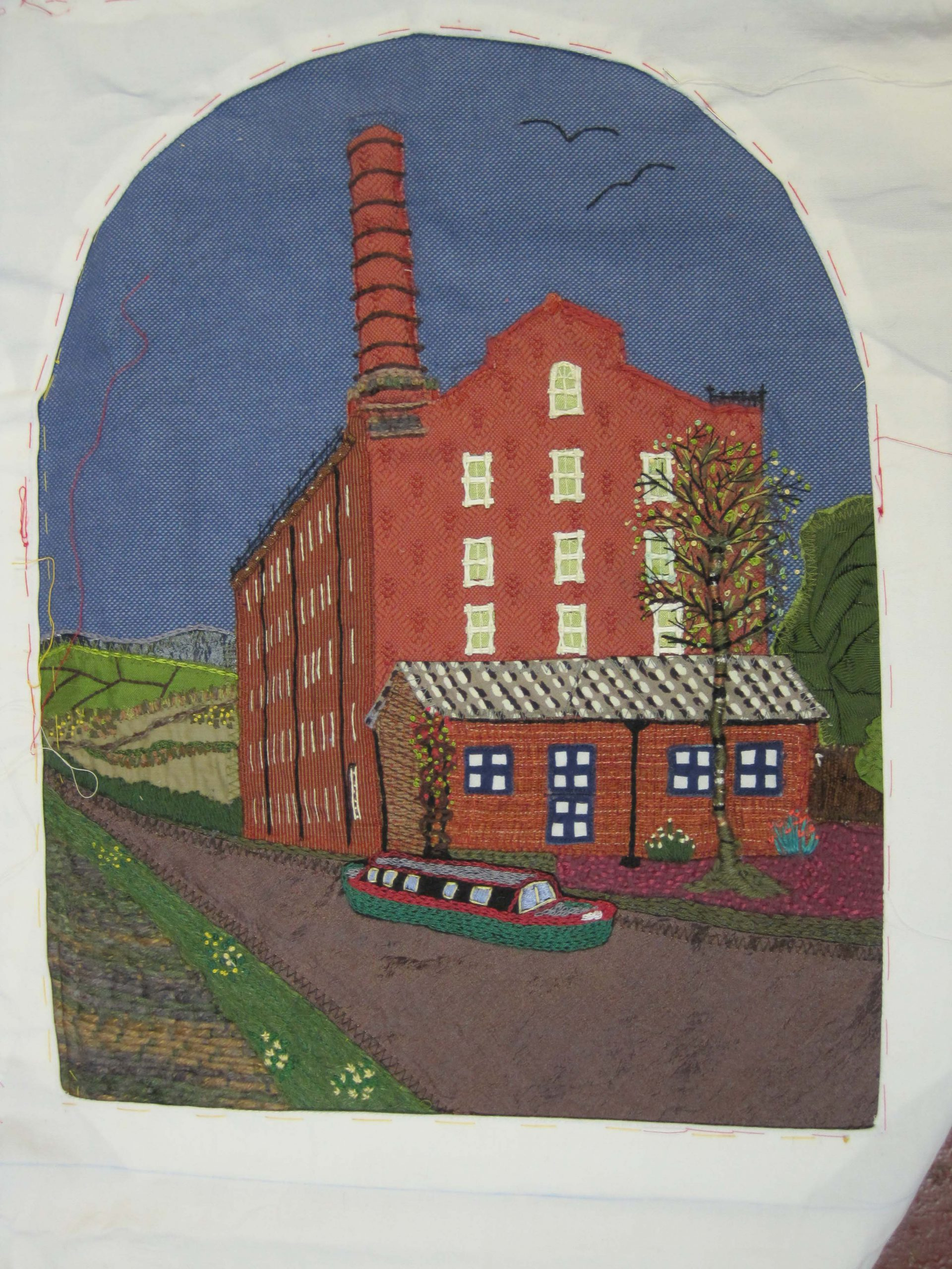 Hovis Mill Stitching